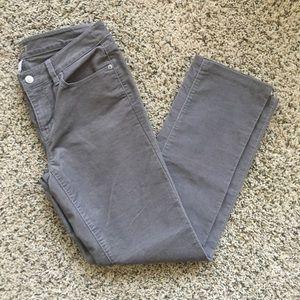 Ann Taylor LOFT Modern Straight Corduroy Pant sz 4